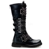 DEFIANT-402 Black Faux Leather